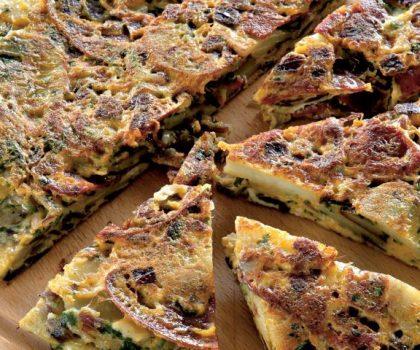 Тортилья с сыром «Манчего» и оливками