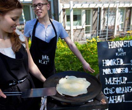 Хельскинский фестиваль pop-up: как обычные люди могут открыть свои однодневные кафе