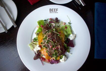 Ресторан BEEF: новое меню Lamb&Game или обед открытий