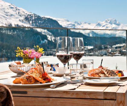 Зимний кулинарный фестиваль в Санкт-Мориц