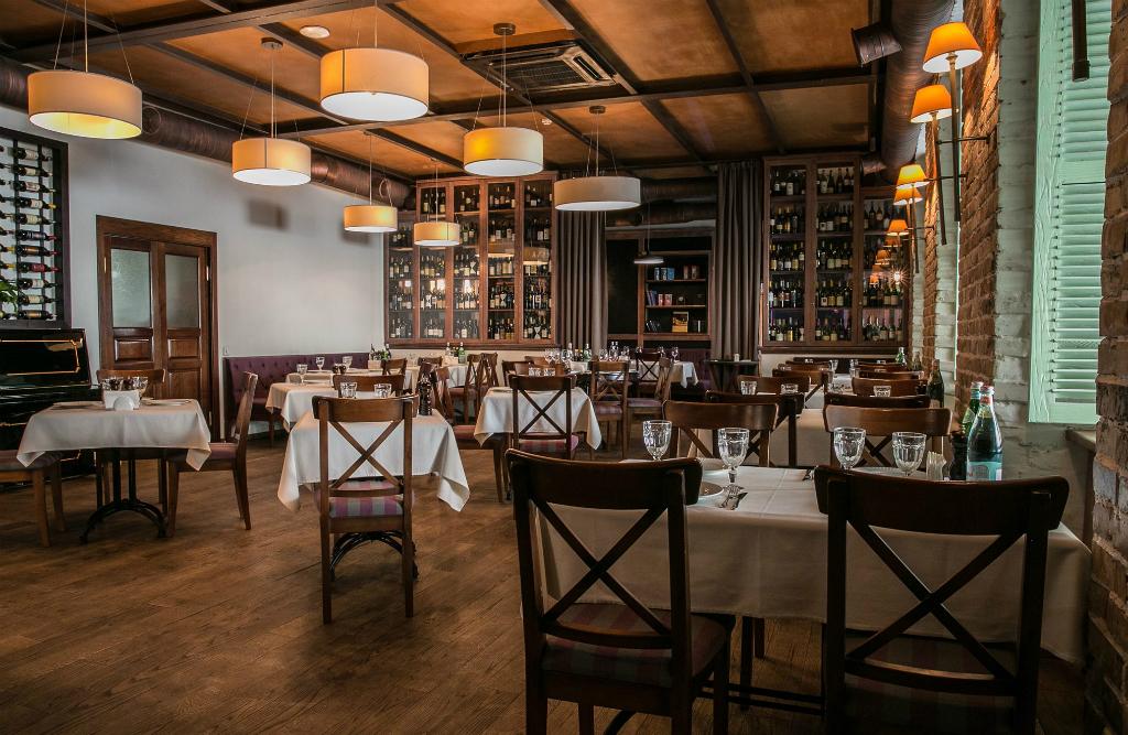 Итальянский ресторан конча заспа