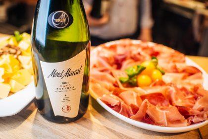 Дегустация игристого вина «Cava» в Le Silpo или вино, как вдохновение