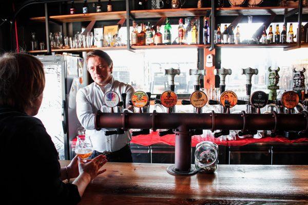 Интеллигентный «варвар»: интервью с владельцем бара-пивоварни «Lisopylka» Василием Микулиным