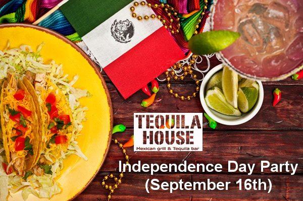 День независимости Мексики в Tequila House
