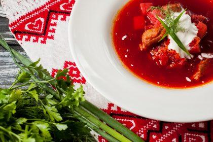 Ресторан Graal презентовал украинское меню