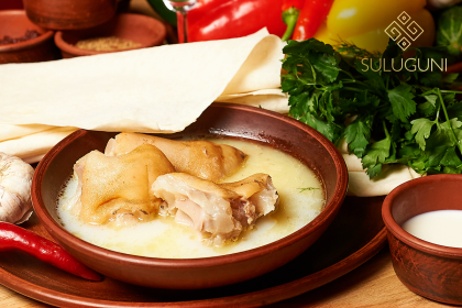 Каждое воскресенье — в Suluguni, идеальный похмельный суп, угощаем рюмочкой чачи!