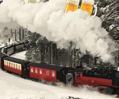 Пакуйте валізи!На нас чекає подорож новорічним потягом «У хромого Пола — Прага»!