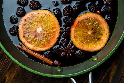 Глинтвейн с ягодами для холодной погоды