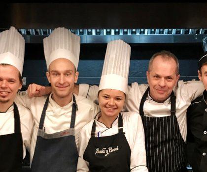 У штурвала ресторана Саввы Либкина Рыба в огне новый шеф-повар — итальянец Роберто Армароли
