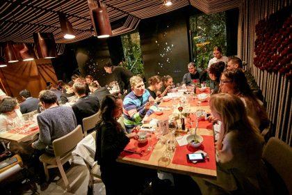 Ужин на тему ягнятины в ODESSA Restaurant