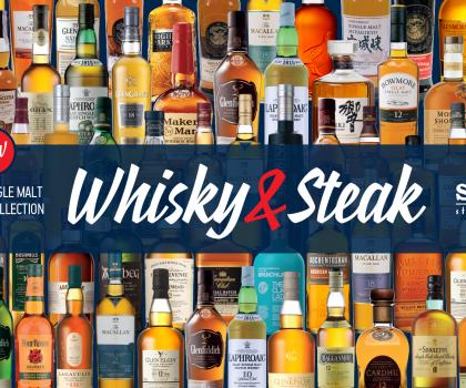 Новая коллекция виски в Sam's Steak House!