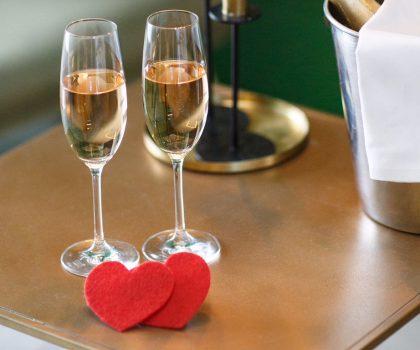 День Святого Валентина в кафе-ресторане Липский