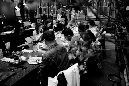 Fashion-обед в Стейкхаусе Саввы Либкина для гостей украинской Недели моды