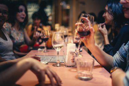 Дегустация вина в ресторане Мама Гочи