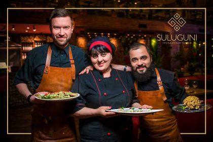 Фестиваль мегрельської кухні в ресторані «Suluguni»