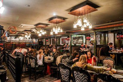 Одеські манси в Samogon Fish Bar