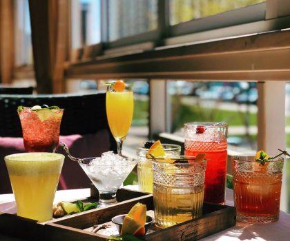 28 апреля в ресторан-кондитерской «Счастье» коктейль-пати на летней террасе
