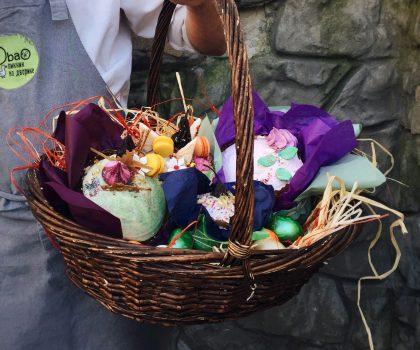 Пасхальная корзина от ресторана Терраса: традиционные вкусы, трендовый декор