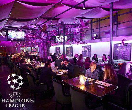Трансляция финала Лиги Чемпионов в ресторане Сейф