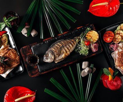 Fiji Lounge Bar: блюда-фавориты