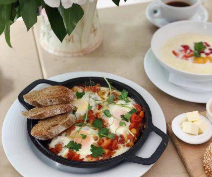 Оновлені сніданки у «Волконському»