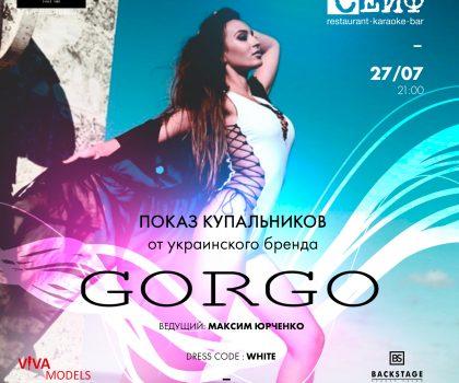 Показ бренда GORGO в ресторане «Сейф»