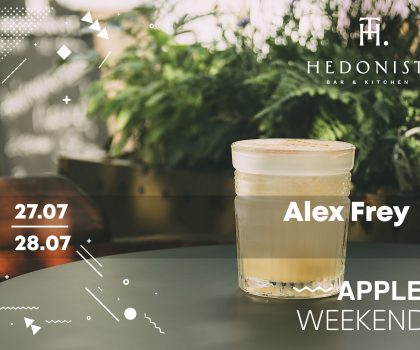 Apple Weekend в Hedonist