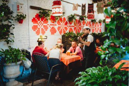Обіди в Samogon Grill Bar на Печерську!