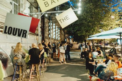 Выставка фотографа Анны Гольцберг и показы Швейцарского кино в It's Not the Louvr gallery Bar