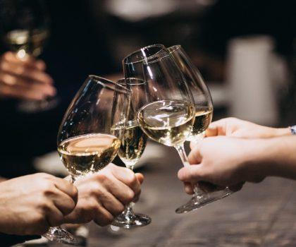 Гастрономический ужин с винами Marques de Caceres в ресторане Стейкхаус