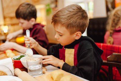 Мастер-класс детской кулинарной школы 'Chef en Herbe' 23 сентября!