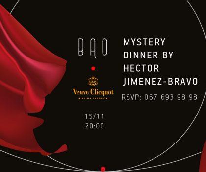 В ресторане BAO • Modern Chinese Cuisine состоится долгожданный ужин с Эктором Хименес-Браво