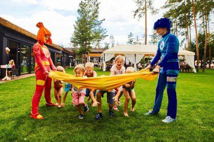 Выходные с детьми в Queen Country Club
