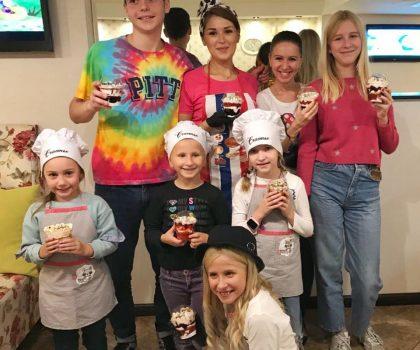 Каждое воскресенье ресторан-кондитерская Счастье приглашает юных поварят на кулинарные мастер-классы!
