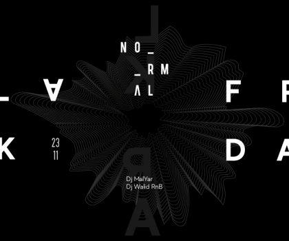 BLACK FRIDAY в NORMAL!