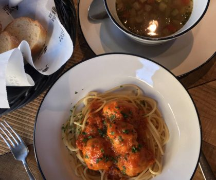 Новый домашний обед в Рыбе-Пиле