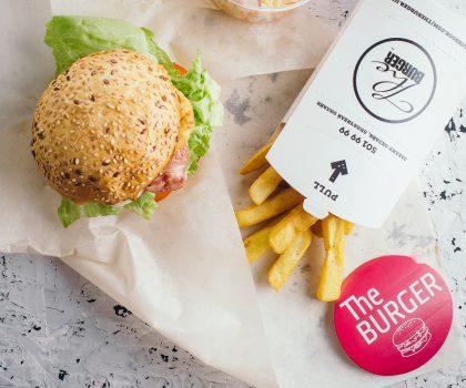 Замовляй з 12:00 до 16:00 бізнес-ланчі в The Burger Доставка