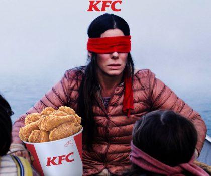KFC прорекламировался за счет фильма ужасов