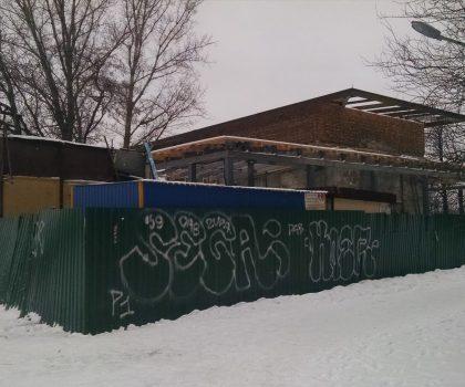 Под видом ремонта насосную станцию на Русановке превращают в ресторан
