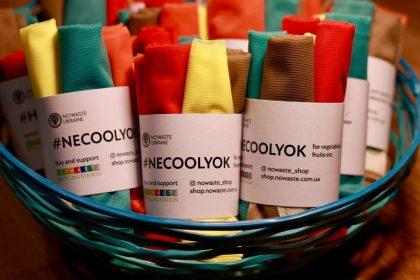 За продуктами с авоськой: в Киеве открылся магазин с экологичными шопперами, флягами, стаканчиками