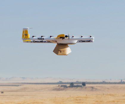 В Австралии дроны работают разносчиками кофе