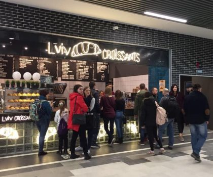 Новая локация: современный food court в Львовском СТРЦ