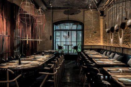 Киевский ресторан стал финалистом конкурса International Interior Design Association