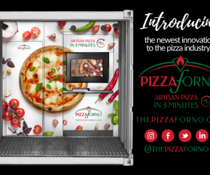 Без человеческих рук: пицца из автомата за три минуты