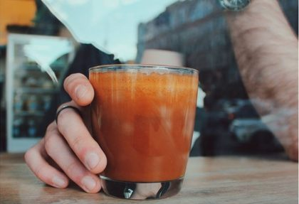 Новое заведение: кофе и оранж-капучино на Владимирской