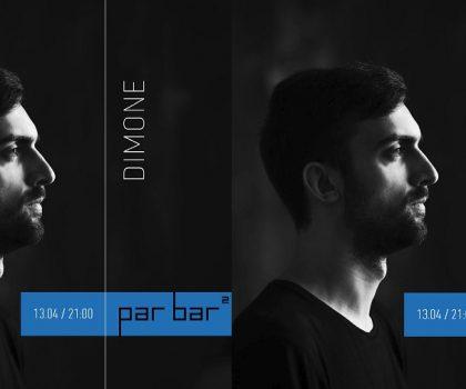 Субботняя pre-party от DIMONE (13.04, 21:00) в Par Bar²