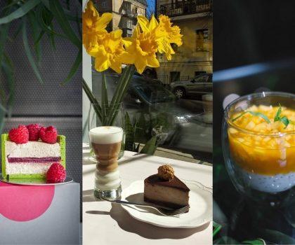 Кава з десертом: де в центрі Києва можна зустрітись на каву і поласувати солодощами