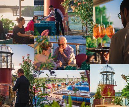 Ресторани на березі Дніпра з видом на воду: природні краєвиди столиці