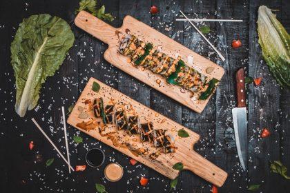Новий заклад: роли, салати та сніданки в ресторані GRANDFISH на Саксаганського