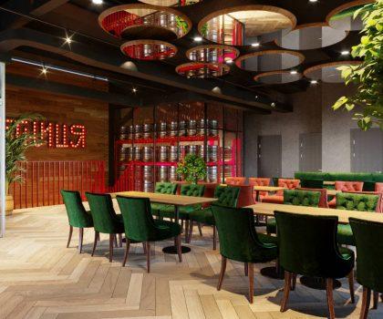 Новий заклад: 40 кранів розливного пива в ресторані «П'ятниця» у Львові